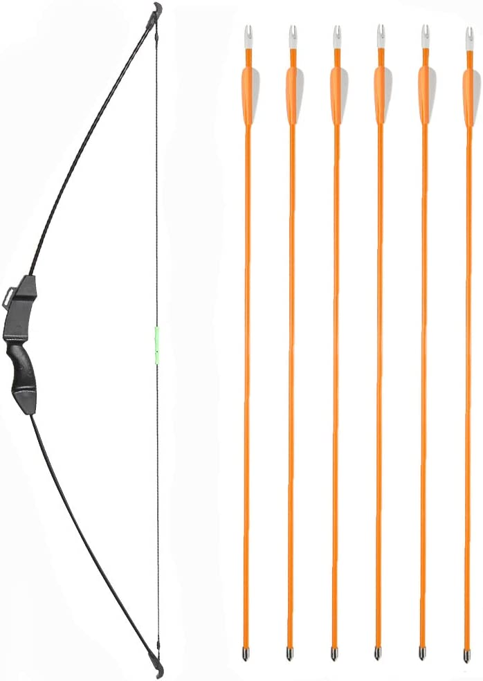 TOPARCHERY Youth Bow and Arrow Set Beginner Takedown Recurve Bow Set Outdoor Sports Archery Gift for Youth Teens