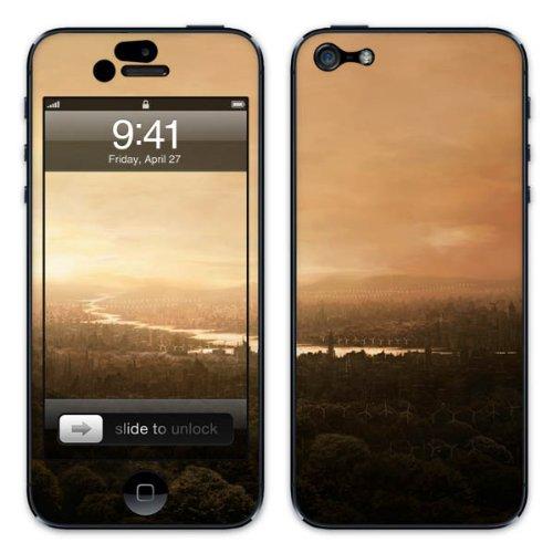 Diabloskinz B0081-0054-0007 Vinyl Skin für Apple iPhone 5/5S City of Delusion