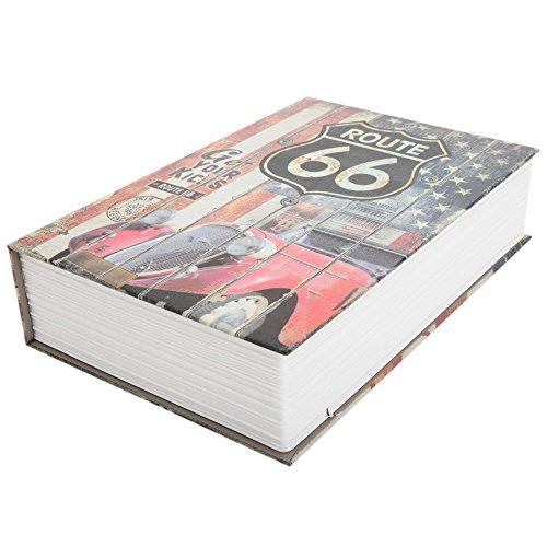 Diversion Book Safe, Dictionary Secret Cash Safe Box with Combination Lock, Diversion Book Hidden Safe (66 Style-Code, M) by Bseash (Image #2)