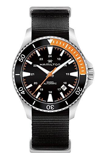 Hamilton-H82305931-Black-40mm-Stainless-Steel-Khaki-Navy-Scuba-Auto-Mens-Watch