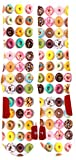 Funny Cute Custom Colorful Donut Dri Fit Socks With Design