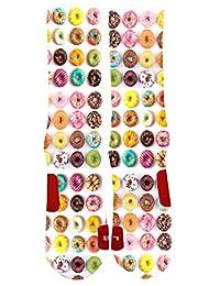Funny Cute Custom Colorful Dri Fit Socks With Design