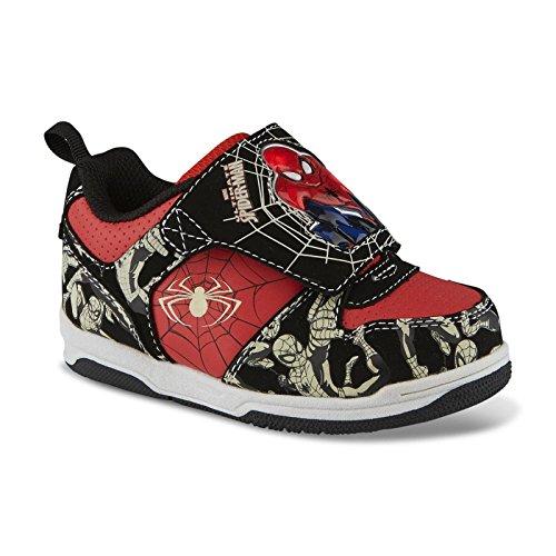 Marvel Spiderman Kinder Jungen Turnschuhe Blink Licht Spider Man Schuhe
