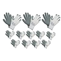 Atlas 451 Therma-Fit Cold Weather Insulated Rubber Large Work Gloves, 24-Pairs