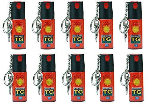 売れ筋コンパクト防犯スプレー TG-2508 TG-2508 B07FXN4GT6【護身用】10本セット B07FXN4GT6, リビングプラザたく屋:9e0026f6 --- gallery-rugdoll.com