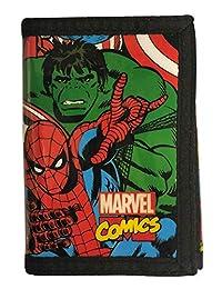 Marvel Comics Tri-Fold Credit Card Case/Wallet…