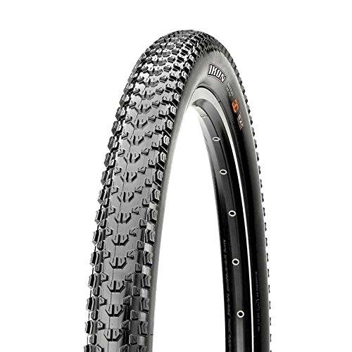 Maxxis Ikon Triple Compound EXO Tubeless Ready Folding Bead 120TPI Bicycle Tire (Black - 26 x 2.35)