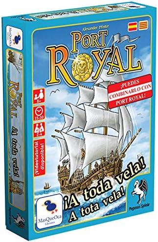 Ediciones MasQueoca - Port Royal A Toda Vela (Español)(Catalán): Amazon.es: Juguetes y juegos