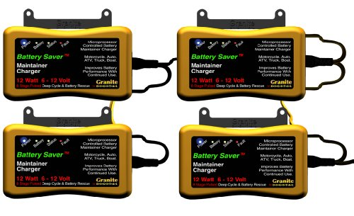 Battery Saver 6259 12W Pulse Battery Maintainer/Charger with Battery Rescue and 20' Extension Cables by Battery Saver (Image #9)