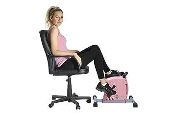 GymMate - Convierte cualquier silla en una bicicleta de ejercicios - Mini Ejercitador Magnético de Calidad Premium - Suave, ...