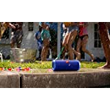 JBL Flip 3 Splashproof Portable Bluetooth Speaker (Red)