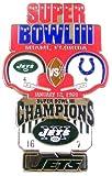 Super Bowl III Oversized Commemorative Pin