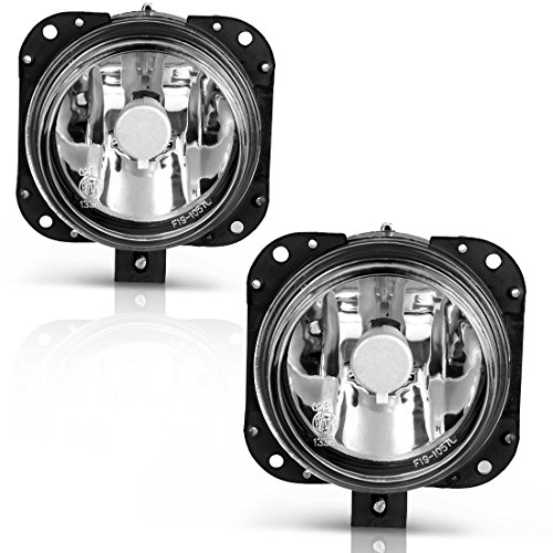 AUTOSAVER88 Factory Style Fog Lights For Mitsubishi Eclipse (03-05 Eclipse-Clear)