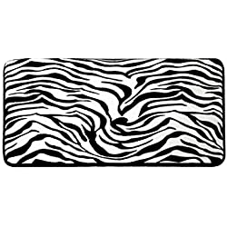 Best Price Plus Memory Foam Multi-purpose Rug/Mat - Zebra Print