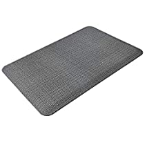 HEALEG Standing Desk Mat - Anti Fatigue Comfort Floor Mat for Office and Home - Increase Daily Standing Time to 8 Hours and Eliminate Back Pain and Ankle Pain