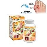 Gout - BoniGut, 01 Box x 60 Capsules, Natural Remedy for URIC ACID GOUT Relief