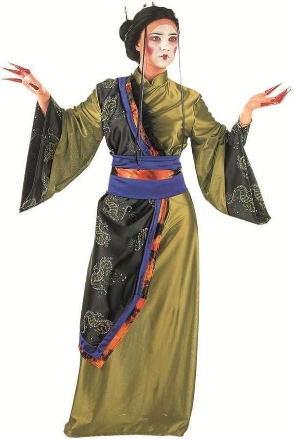 Limit Sport - Disfraz de geisha dorada, para adultos, talla M ...
