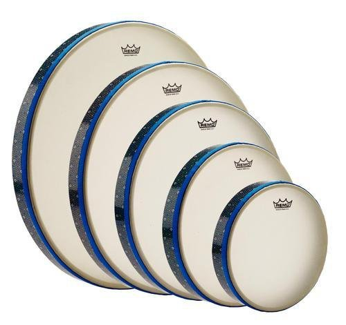 REMO Thinline Frame Drum, Fixed, RENAISSANCE®, 10 x 1-9/16 RENAISSANCE® 10 x 1-9/16 HD-8910-00