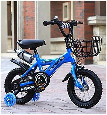 K-G Bicicleta Infantil Bicicletas for niños de 2-11 años de niños ...