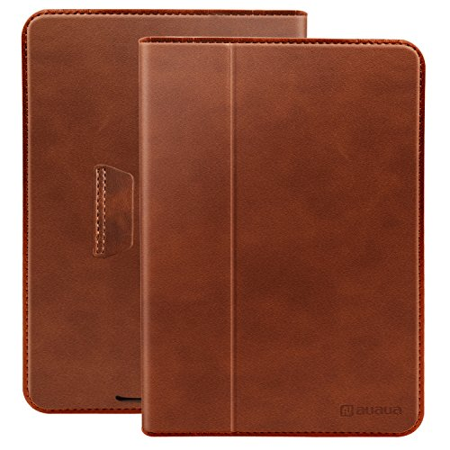 AUAUA Kindle Paperwhite Case PU Leather Cover Only 88g Ultra Thin and Light Perfectly Fit all-new Amazon Kindle Paperwhite (Fits all 2012, 2013, 2015 and 2016 Versions)(Brown,Ultra Thin)