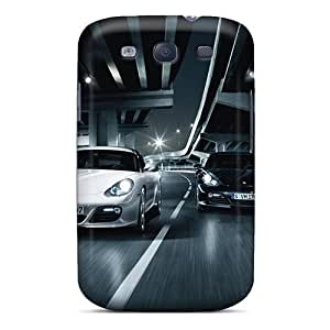 Shockproof/dirt-proof Porsche Cayman Cars Covers Cases For Galaxy(s3)