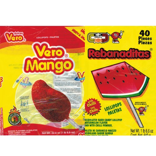 Vero Mango and Rebanaditas Paletas Bundle -