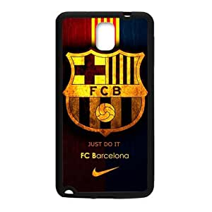Fashion FC Barcelona Football Club Samsung Galaxy Note3 Cell Phone Cases Cover Popular Gifts(Laster Technology) by ruishername