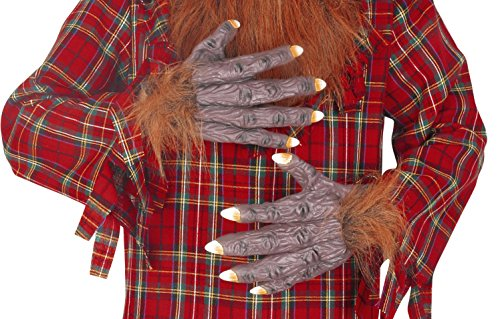 (Seasons Deluxe Hairy Hands Costume Accessory)