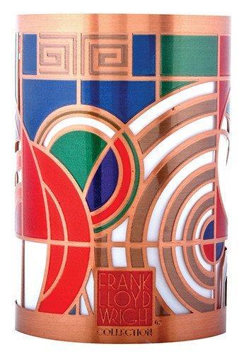YTC Frank Lloyd Wright Max Hoffman Rug Design Votive Candle Holder
