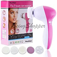 Beingshopper 5-In-1 Smoothing Body Face Beauty Care Facial Massager, Color May Vary