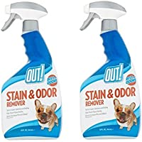 OUT! Pet Stain & Odor Remover, 32 oz (32 oz-Pack of 2)