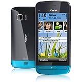 Nokia C5-03 无锁 GSM 手机,带共生OS,5MP 相机,Ovi 地图导航,Wi-Fi 和 microSDHC 插槽 蓝色/黑色