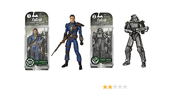 """Fallout Legacy Collection Lone Wanderer Funko  7"""" Action Figure  #101 Bethesda"""