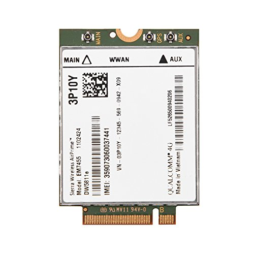 Fosa Replacement Wireless EM7455 for Dell DW5811e 3P10Y Qualcomm 4G LTE WWAN NGFF Card - 700 Module Mhz