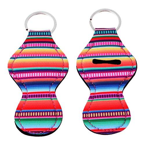 Baoblaze Handy and Stylish 12 Colorful Patterns Lip Balm Chapstick Holder for Decoration - #2