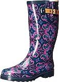 Chooka Women's Magic Carpet Rain Boot Navy Boot (7 B(M) US, Navy)