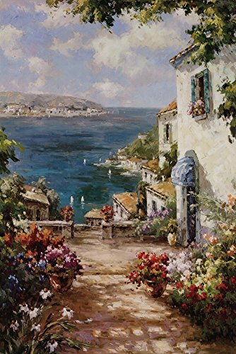 Great Art Now Citta Del Mare by Paline Art Print, 24 x 36 in