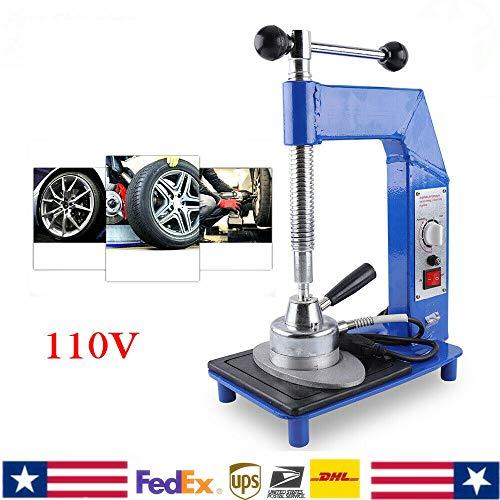 LiFuJunDong 110V Tire Auto Repair Machine Vulcanizing Machine Vulcanizer Garage Equipment Tool Automatic Temperature 140℃-165℃