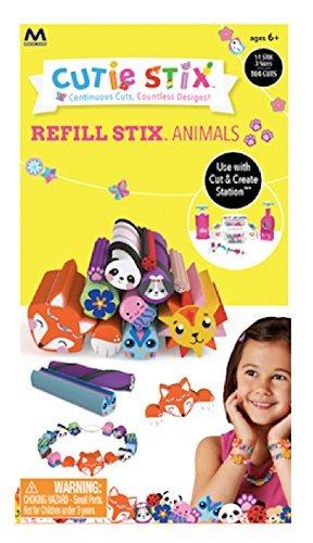 Cutie Stix Cut and Create Station Refill Pack - Animals Set