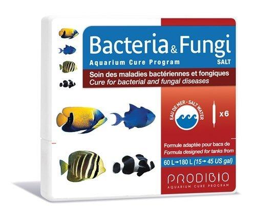 Hydor Prodibio Cure Aquarium Medication Bacteria and Fungi for Saltwater 6 vial Hydor Usa