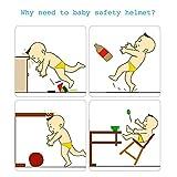 Baby Adjustable Safety Helmet Children Headguard