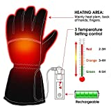 Men Woman Electric Gloves with 3.7V Rechargeable Battery...