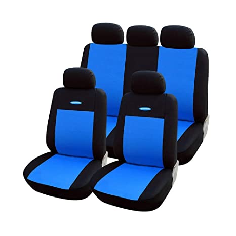 Sensational Amazon Com Wjsw Universal Fit Car Seat Covers Set Black Theyellowbook Wood Chair Design Ideas Theyellowbookinfo