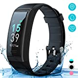Fitness Tracker Watch with Heart Rate Monitor, AKASO Fitness Band, IP68 Waterproof Activity