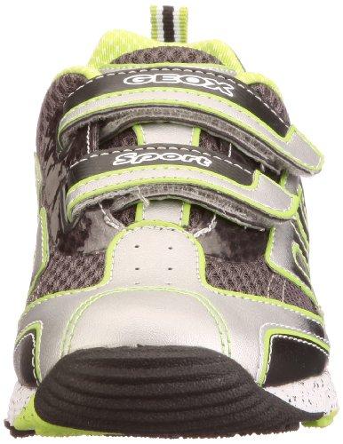 Geox Jr Ascari J22F5V01454C0635 - Zapatillas para niño Plateado