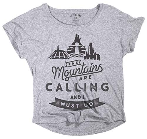 Superluxe Clothing Womens Space Splash Big Thunder Mountains