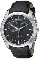 Tissot Men's T0354391605100 T-Trend Couturier Analog Display Swiss Quartz Black Watch