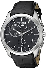 Tissot Men's T0354391605100 T-Trend Couturier Analog Display Swiss Quartz Black Watch