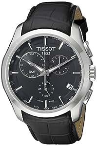 Tissot T0354391605100 - Reloj de caballero de cuarzo, correa de piel color negro