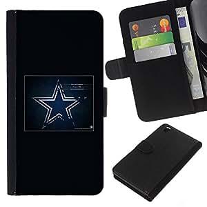 Jugador de la NFL - la tarjeta de Crédito Slots PU Funda de cuero Monedero caso cubierta de piel Para HTC DESIRE 816
